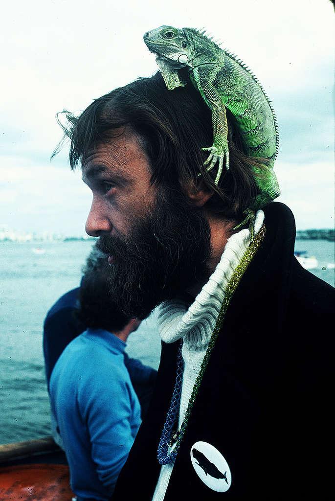 Bob Hunter. © Greenpeace