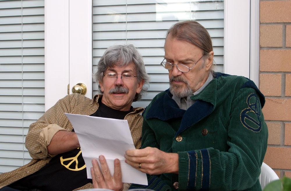 Bob and Rex in 2004. © Myron McDonald