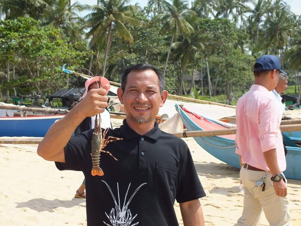 Wichotsak Ronarongpairee, chairman of the Thai Sea Watch Association