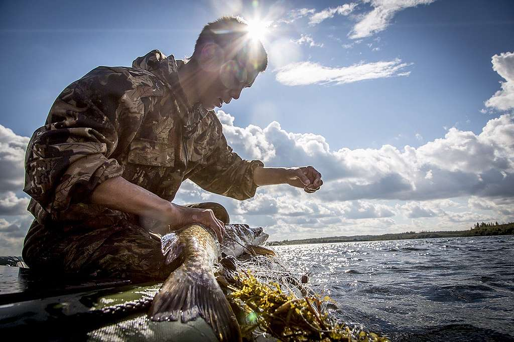 Living off the land and water in the Taymyr Peninsula © Petr Shelomvskiy / Greenpeace