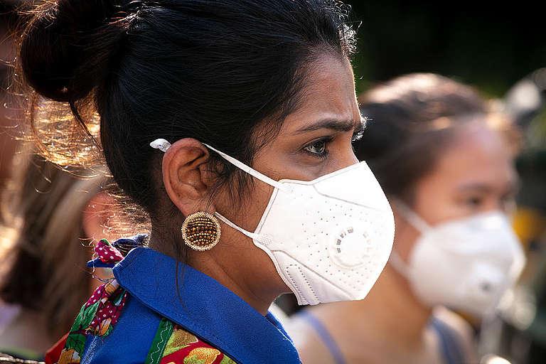Air Pollution Protest in Bangkok. © Wason Wanichakorn / Greenpeace