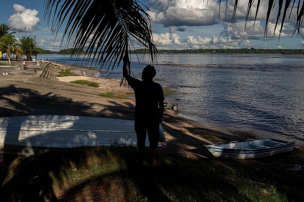 São Gabriel da Cachoeira, in the state of Amazonas, alongside the Negro River © Christian Braga / Greenpeace
