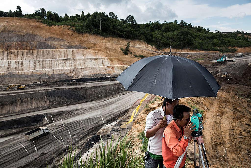 Coal Mining Expansion in Indonesia. © Kemal Jufri / Greenpeace