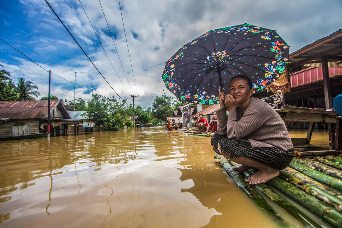 Floods in South Kalimantan. © Putra / Greenpeace