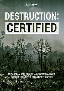 Destruction: Certified cover