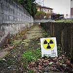 Radioactive Hot Spot in Watari. © Noriko Hayashi / Greenpeace