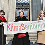 The association Senior Women for Climate Protection, along with four individuals, filed an appeal in their climate case in the Swiss Federal Supreme Court. They demand greater ambition on climate action and protection of fundamental rights to life and health from the Swiss Government. Representing more than 1,200 Swiss women aged 64 and older, Senior Women for Climate Protection decided unanimously to bring the case to the highest court in the country after it was rejected by a lower one.