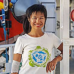 Portrait Kelly Huang. © Marten van Dijl / Greenpeace