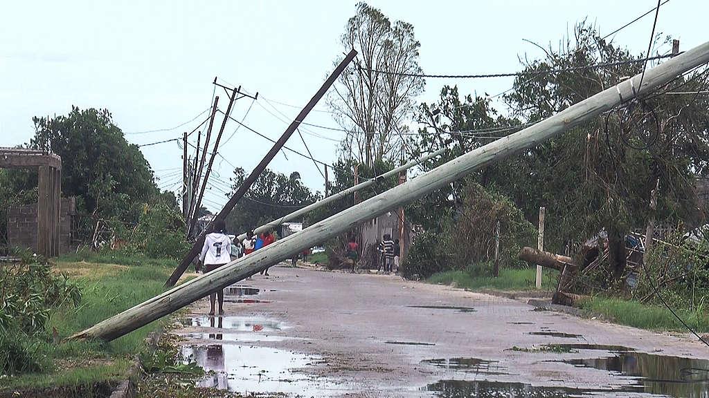 Tropical Cyclone Eloise hit Mozambique, AFPTV/AFP via Getty Images