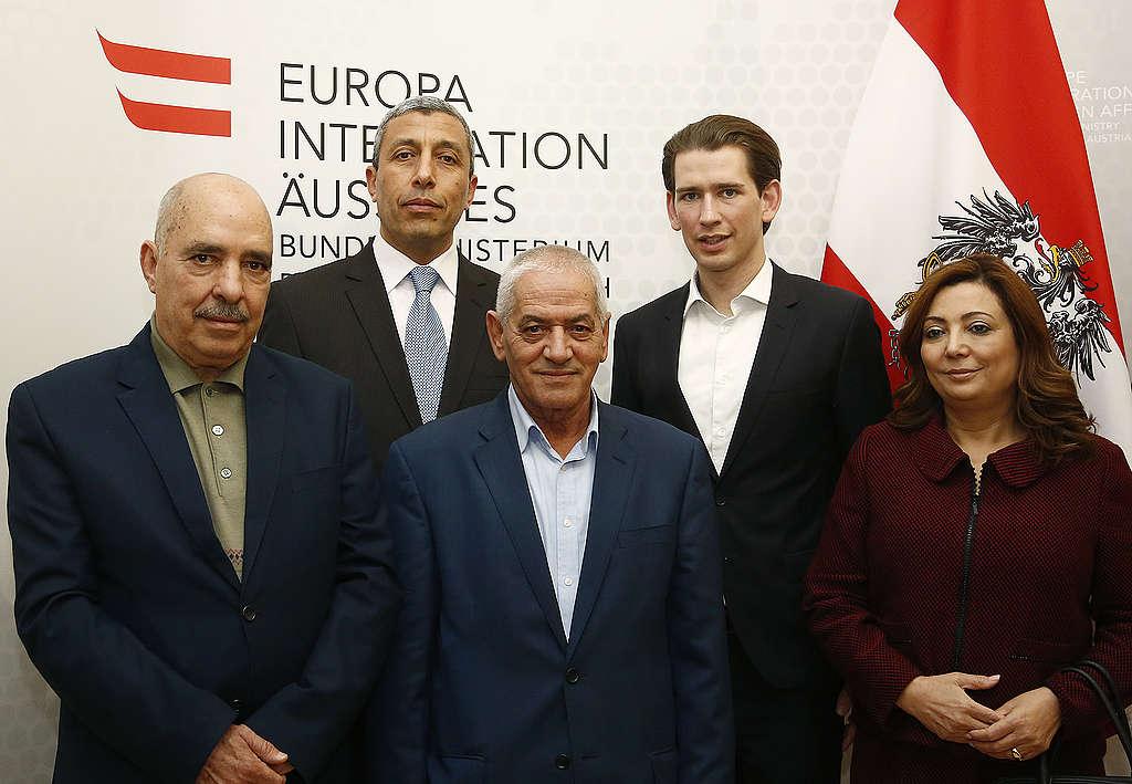 Meeting with the Tunisian Nobel Peace Prize Laureates. Vienna. © Dragan Tatic / Bundesministerium für Europa, Integration und Äußeres, Wikimedia Commons CC 2.0