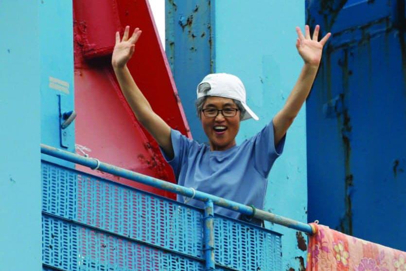 Labour activist Kim Jin-Suk. © Jaewon Lee
