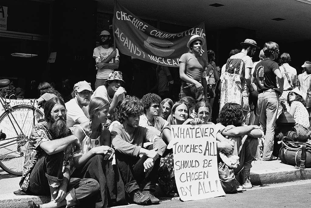 Anti-nuclear Rally in Washington D.C. © Greenpeace / Rex Weyler