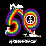 Greenpeace 50th logo © Leire Dominguez / Greenpeace