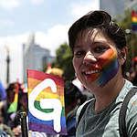 Pride Parade in Mexico City. © Greenpeace / Claudia Carrillo