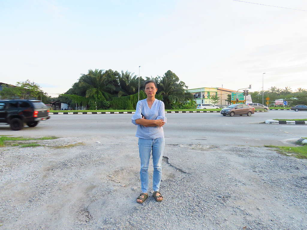 Pua Lay Peng, a chemist who became an activist in order to protect her homeland.