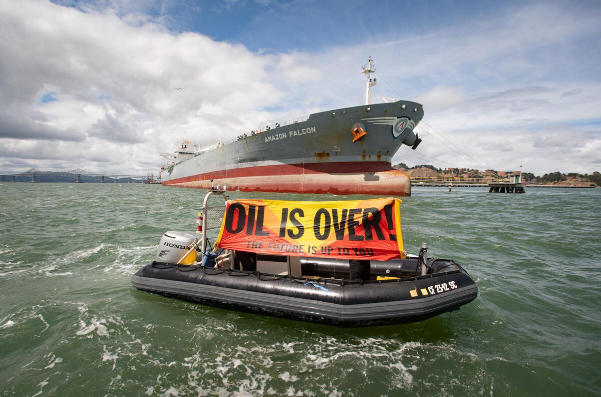 © Josh Edelson / Greenpeace