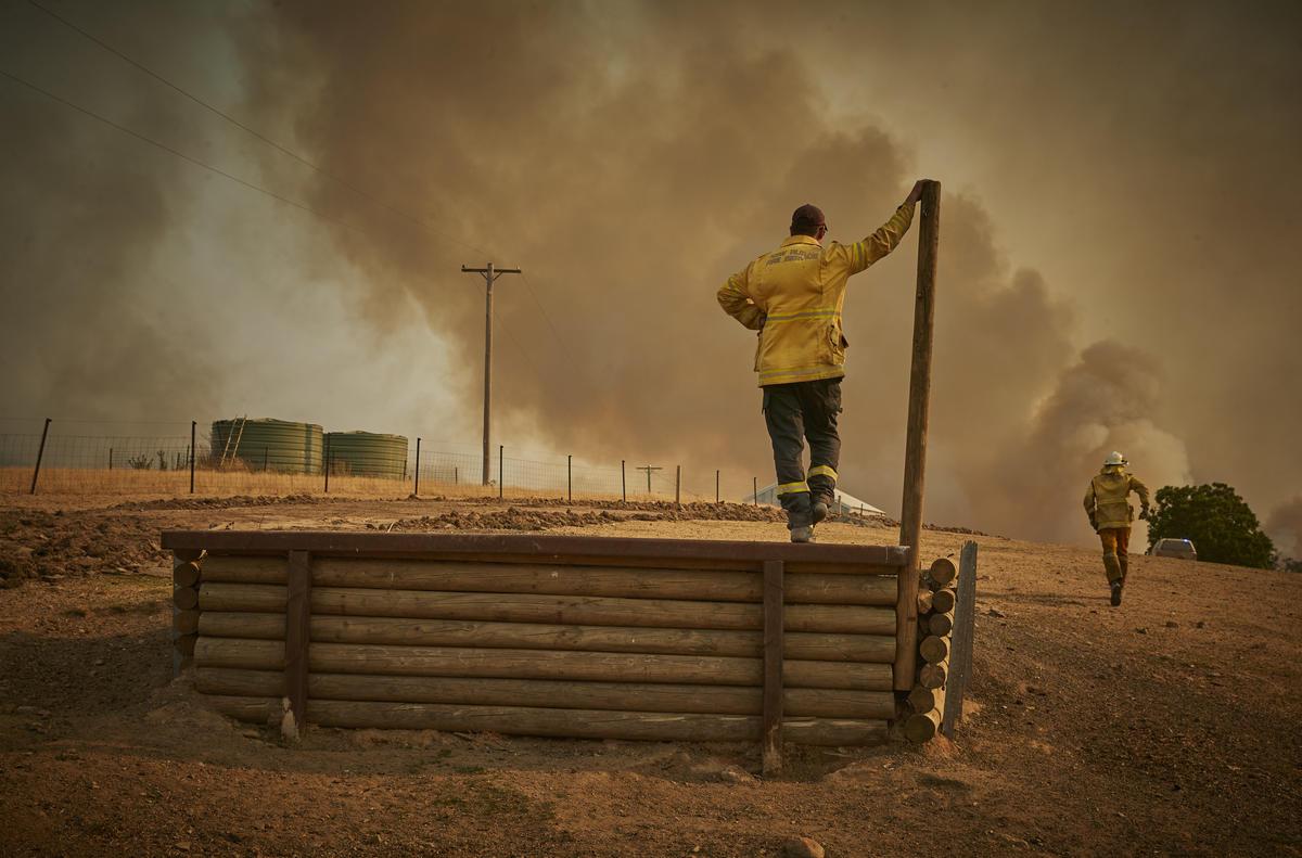 Australia's bushfires © Kiran Ridley / Greenpeace