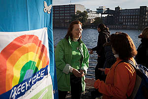 Anniversary 30 Years Greenpeace Germany. © Gordon Welters