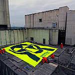 Nuclear Action at Former Nuclear Plant in Italy. © Matteo Nobili