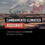 L'ostinato supporto di Generali al carbone europeo