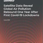 Effetto rimbalzo: la ripresa dell'inquinamento atmosferico globale dopo un anno di lockdown