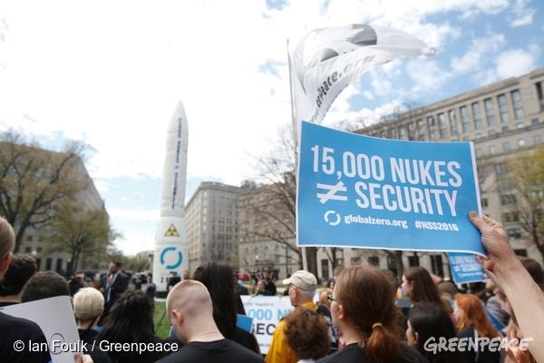 グリーンピース 平和の日 核兵器禁止条約