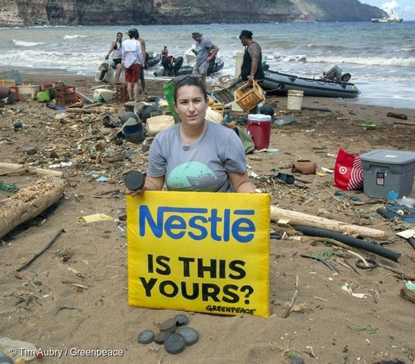 그린피스는 카호올라웨오하나보호(PKO), 카호올라웨섬보전위원회(KIRC)와 협력해 하와이 카호올라웨 섬의 카나푸 해변에서 해변 청소를 하며, 해당 쓰레기 발생 출처(브랜드) 조사를 실시했습니다.