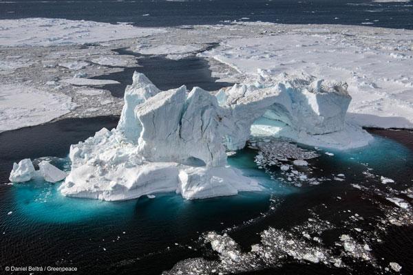 남극 웨델해의 제임스 로스섬