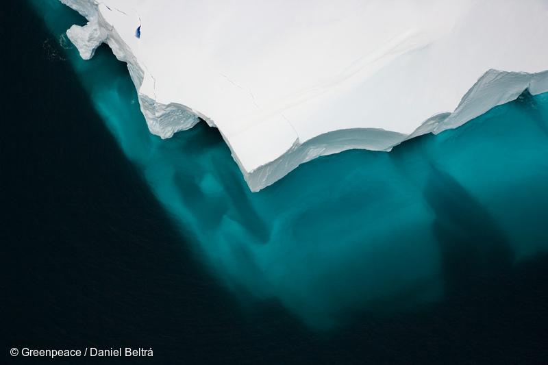 남극 로스해의 빙하