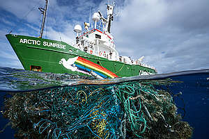 Great Pacific Garbage Patch. © Justin Hofman