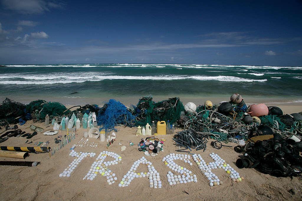 Tournée 'défense de nos océans' - Hawaii Trash (Hawaii: 2006)