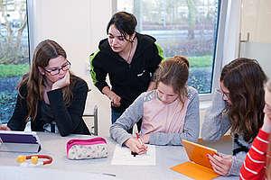 Detox Awareness Unterricht in einer Schule in Amstelveen, Niederlande