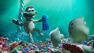 Still from 'Turtle Journey' Animation. © Greenpeace