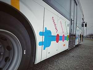 Bus hybride ville de Luxembourg