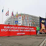 La BEI n'exclut toujours pas le financement des pollueurs climatiques
