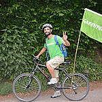 Greenpeace à vélo sur les routes du Luxembourg