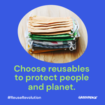 Health experts call for reusable PPE to protect people and planet