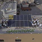 """غرينبيس المتوسّط تُطلِق حملة """"الشمس ببلاش"""" الطاقة الشمسية حلٌّ لأزمة الكهرباء في لبنان"""