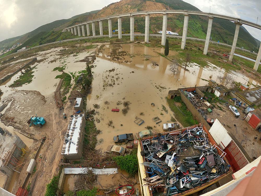 الأمطار الغزيرة والفيضانات تغرق المغرب والجزائر غرينبيس: تحقيق العدالة المناخية وجهوزية الدول لمثل هذه الحوادث يخفف حجم الأضرار