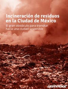 Reporte Incineración de residuos en la Ciudad de México