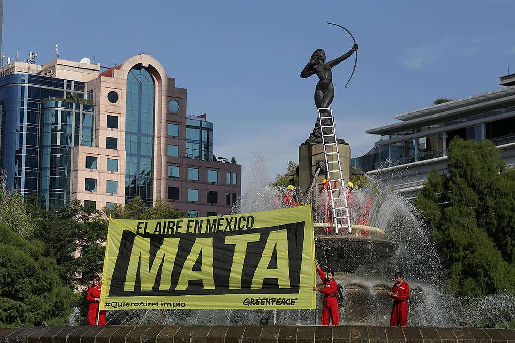 El aire en México Mata. © Ilse Huesca Vargas