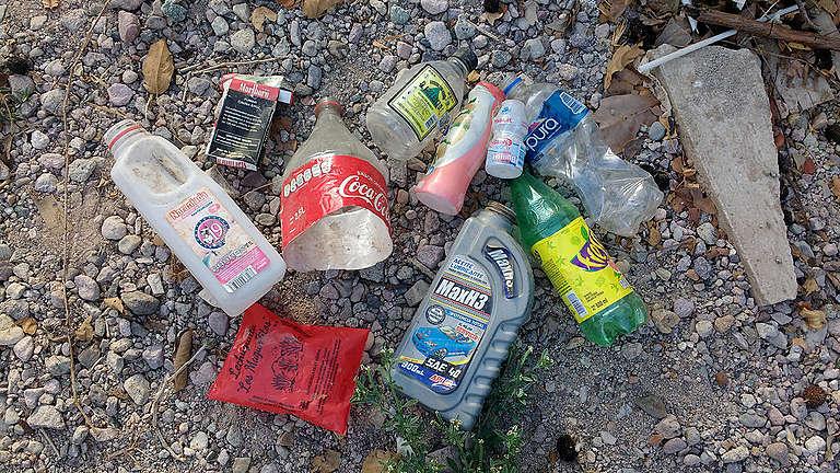 Día de la Tierra. Actividad de limpieza en México