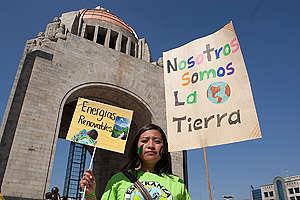 COP21: Marcha climática en la Ciudad de México