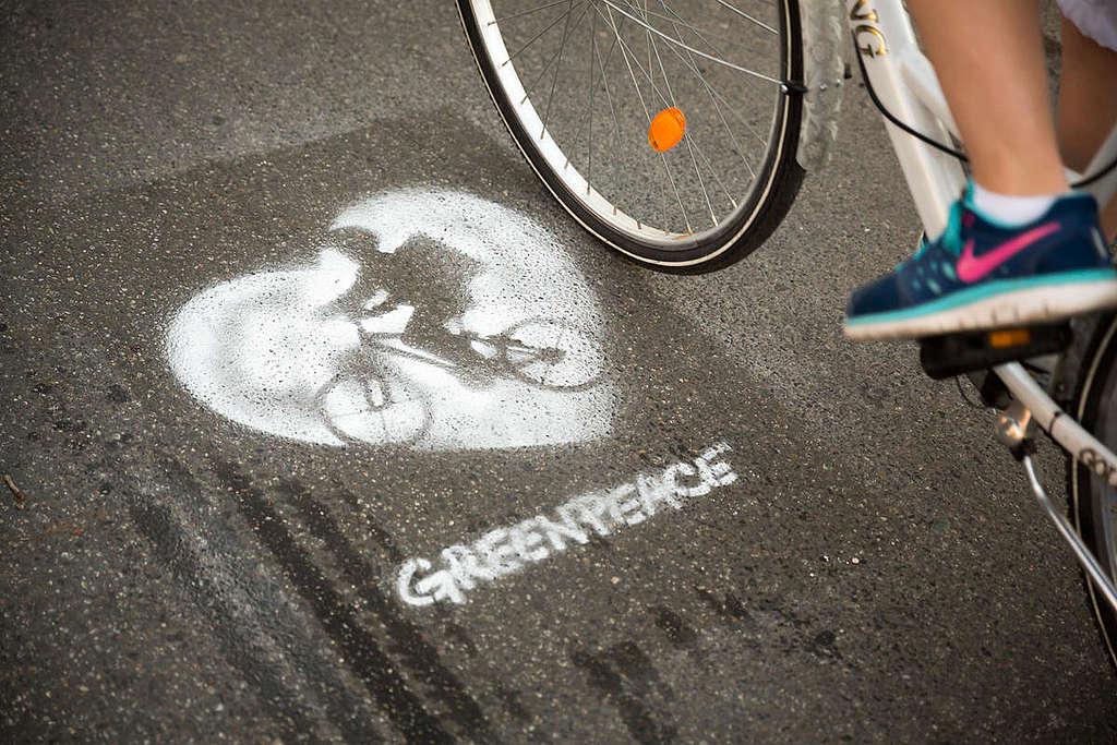 Usa más a bicicleta para combatir el cambio climático