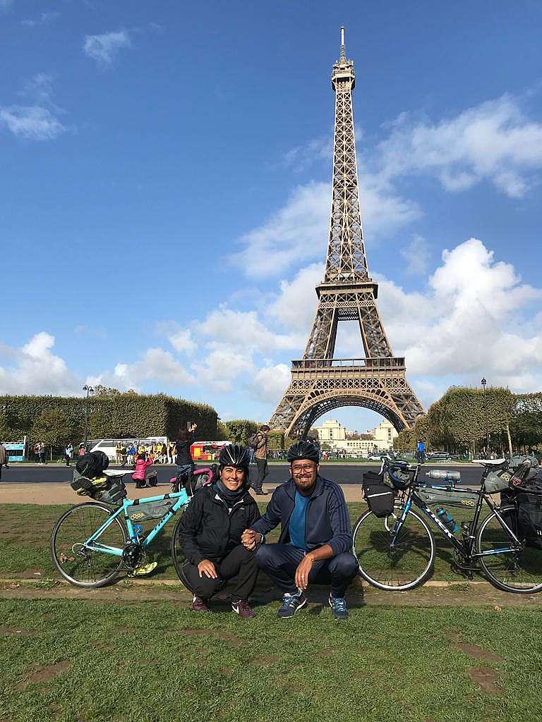 Conocer ciudades o viajar en bicicleta