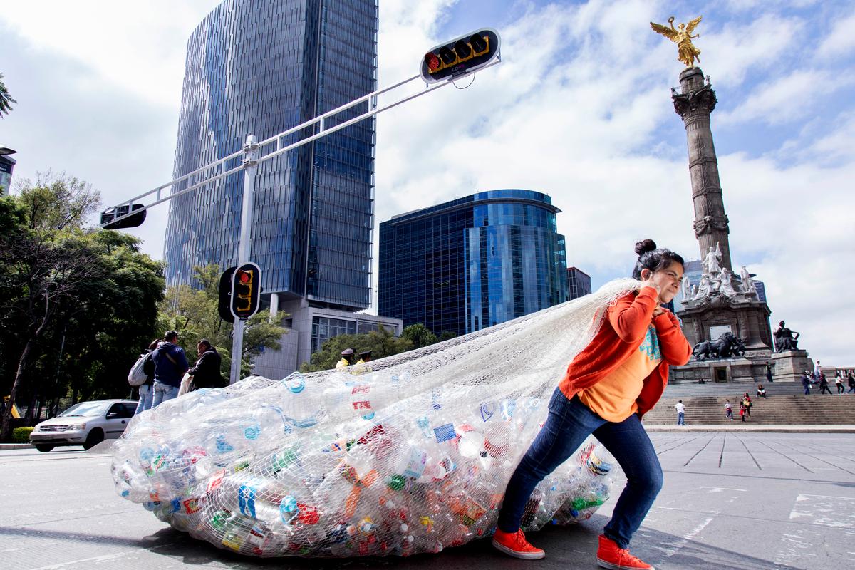 Consumo de plásticos en Méxc © Argelia Zacatzi / Greenpeace