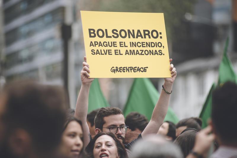 Protestas contra Bolsonaro en el mundo