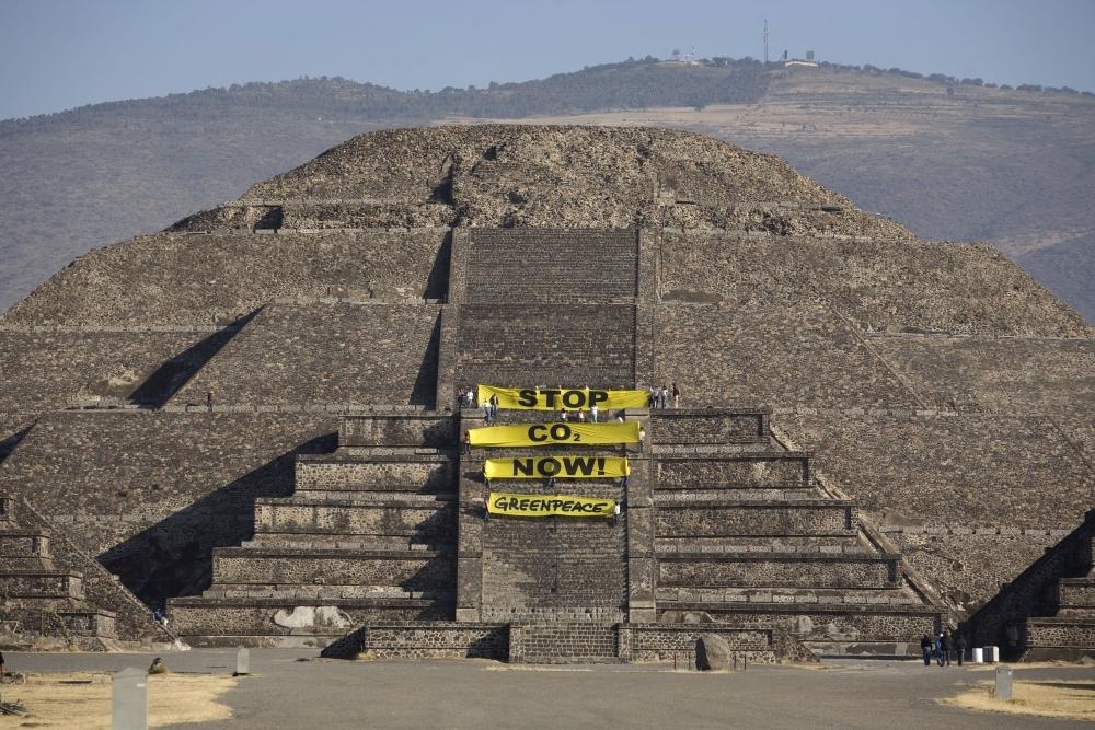 Teotihuacán y contaminación