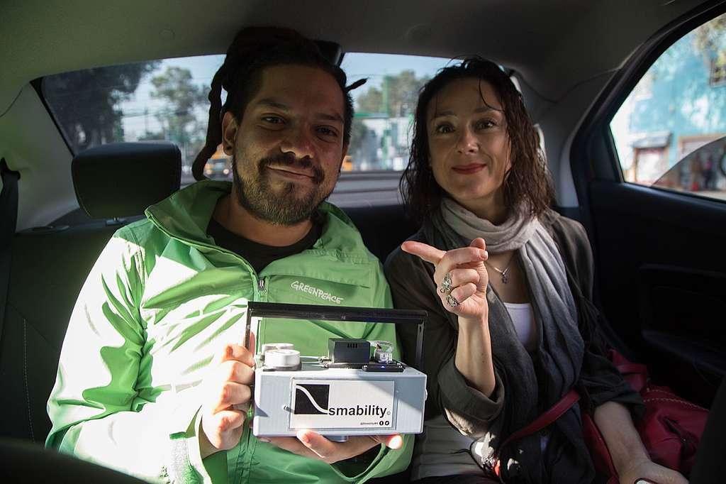 Monitoreo de calidad del aire en Ciudad de México