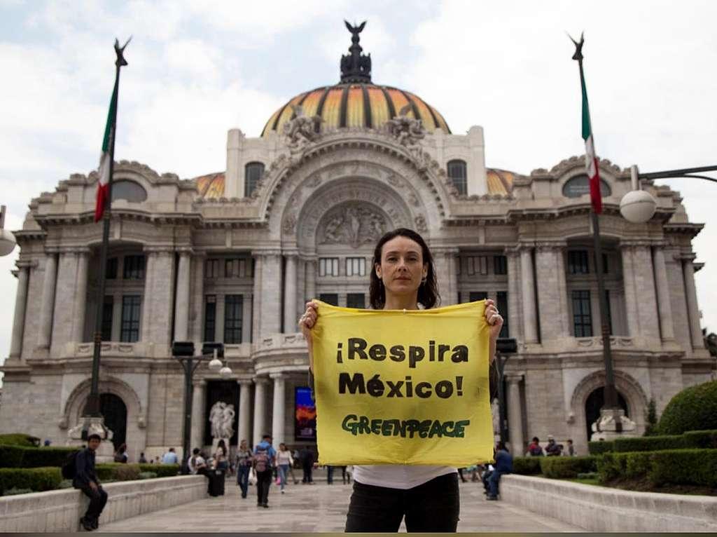 ¡Respira México! Actividad desde Palacio de Bellas Artes